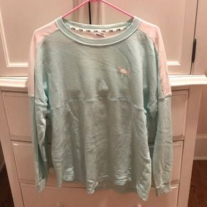 Mint green long sleeve